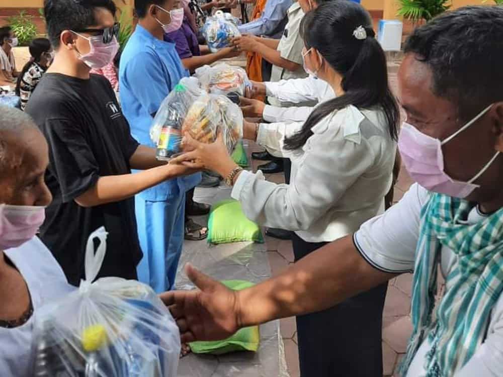 The Together Project Food Donation Activites